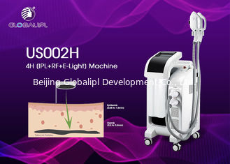 4 In 1 RF E Light ND YAG IPL Laser Hair Removal Machine 10MHz RF Frequency