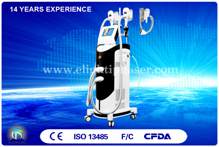 Body Slimming Cryolipolysis Machine Weight Reduction Option Handpieces