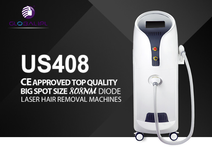 Permanent Painless Diode Laser Hair Removal Machine 56x40x108cm 10Hz Frequency