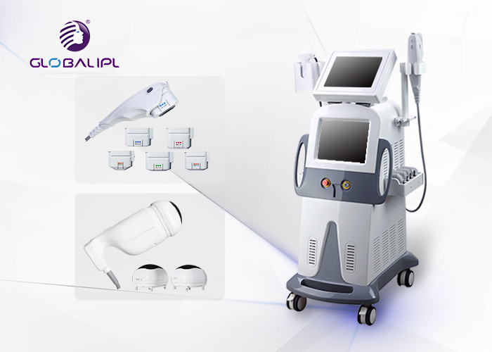 Face And Body 2 In 1 HIFU Machine With Vacuum Cavitation System