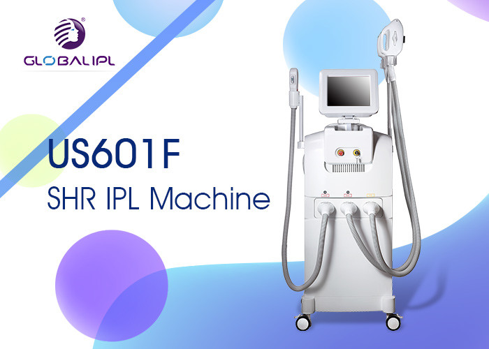Multifunctional Laser SHR IPL Machine 4000w Output Power For Beauty Salon