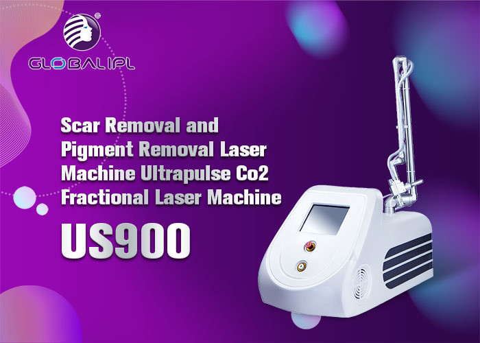 Portable Co2 Fractional Beauty Laser Equipment 72cm*38.5cm*42.5cm Machine Size