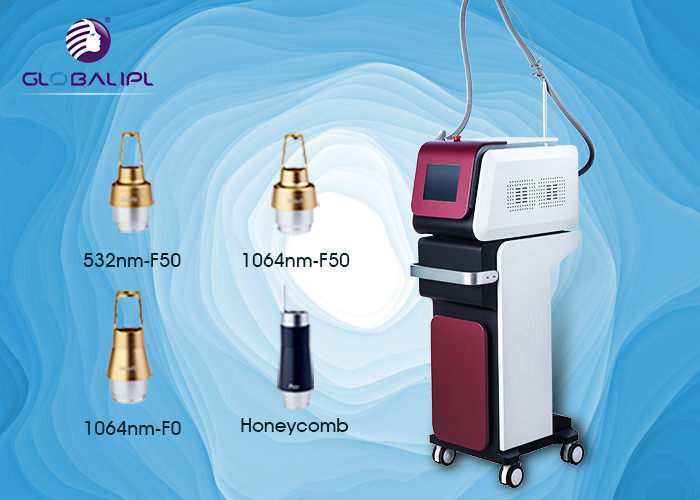 CE Approval Tattoo Removal ND YAG Laser Machine Handhold Handpiece Design